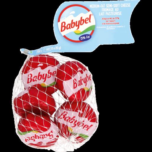 Babybel Mini Semi-Soft Cheese Pack 5 x 20g