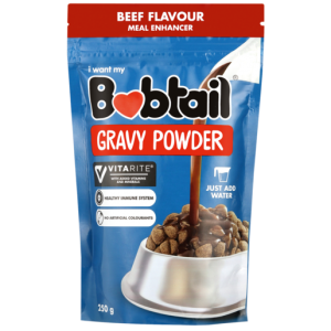 Bobtail Beef Flavoured Dog Gravy Powder Pack 250g