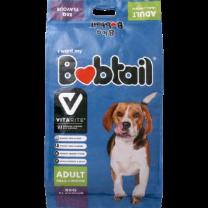 Bobtail BBQ Grill Flavoured Small/Medium Dog Food 8kg