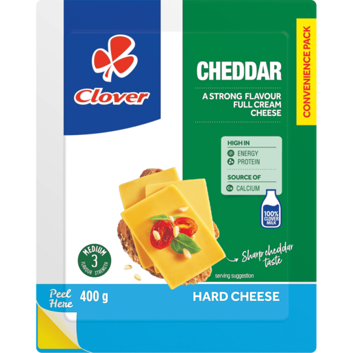 Clover Cheddar Cheese Pack 400g