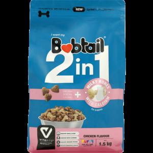 Bobtail 2-In-1 Chicken Flavoured Puppy Food 1.5kg