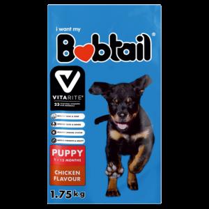 Bobtail Chicken Flavoured Puppy Food 1.75g