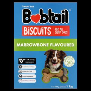 Bobtail Marrowbone Flavoured Dog Biscuits 1kg