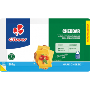 Clover Cheddar Cheese Value Pack 800g