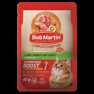 Bob Martin Lamb Dinner With Gravy Flavoured Adult Cat Food 85g