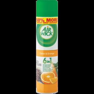 Airwick Cedar & Orange Air Freshener Can 280ml