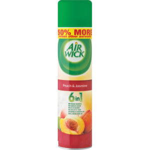 Airwick Peach & Jasmine Air Freshener Can 280ml