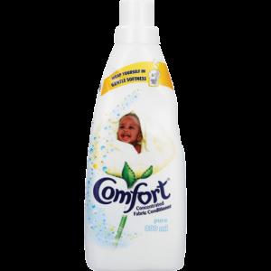 Comfort Pure Fabric Conditioner Bottle 800ml