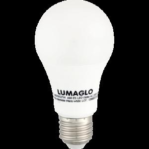 Lumaglo Warm White E27 LED Globe A60 9w