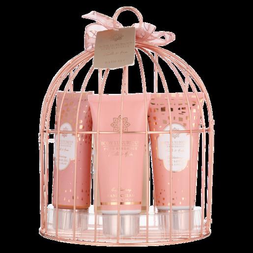 Birdcage Bath Gift Set 4 Piece