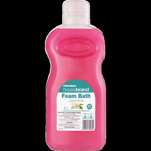 Checkers Housebrand Jasmine Bath Foam 2L