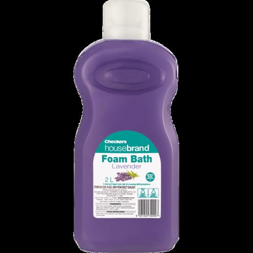 Checkers Housebrand Lavender Bath Foam 2L