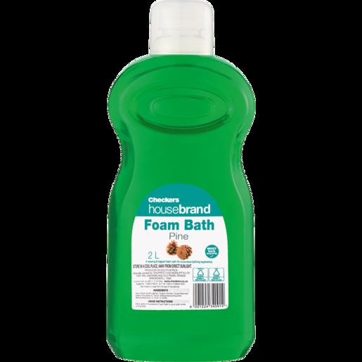 Checkers Housebrand Pine Bath Foam 2L