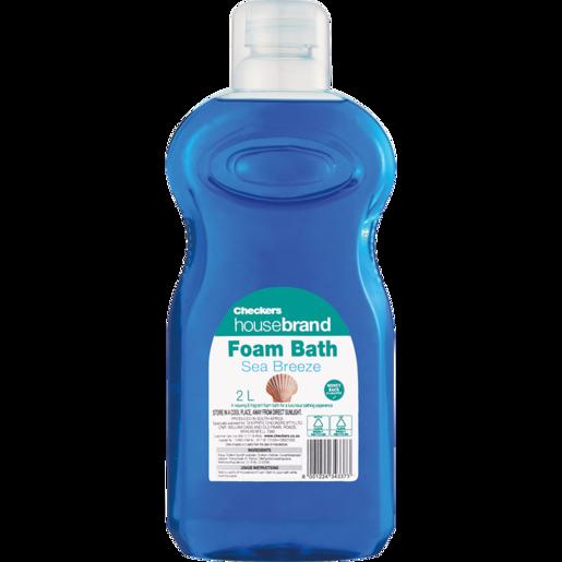 Checkers Housebrand Sea Breeze Bath Foam 2L