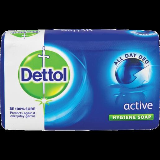 Dettol Active Bath Soap Bar 175g