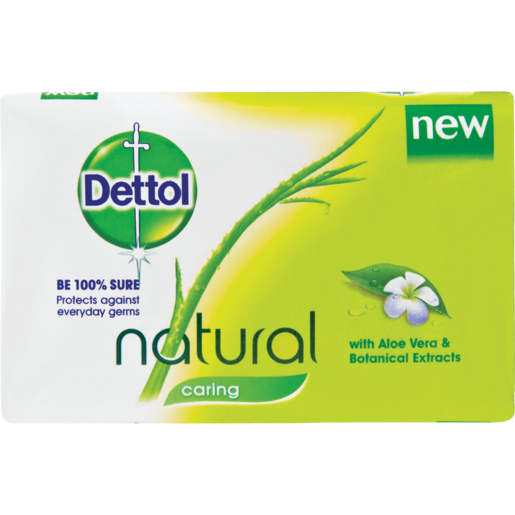 Dettol Caring Bath Soap Bar 175g