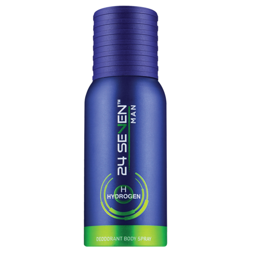 24 Seven Man Hydrogen Body Spray Deodorant 130ml