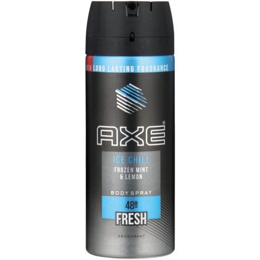Axe Ice Chill Frozen Mint & Lemon Body Spray Deodorant 150ml