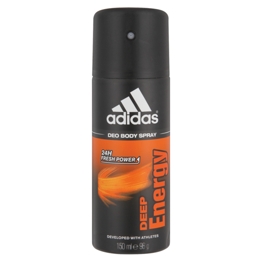 Adidas Deep Energy Body Spray Deodorant 150ml