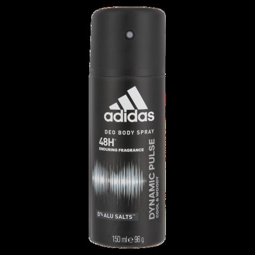 Adidas Dynamic Pulse Cool & Woody Body Spray Deodorant 150ml