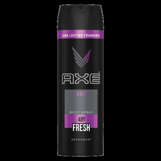 Axe Excite Mens Body Spray Deodorant 200ml