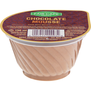 Fair Cape Chocolate Mousse Dessert 150ml