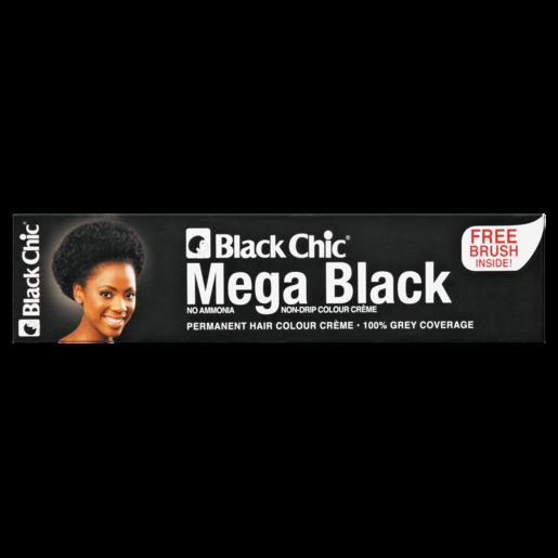 Black Chic Mega Black Permanent Hair Colour 28ml