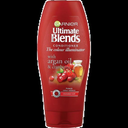 Garnier Ultimate Blends The Colour Illuminator With Argan Oil & Cranberry Conditioner 400ml