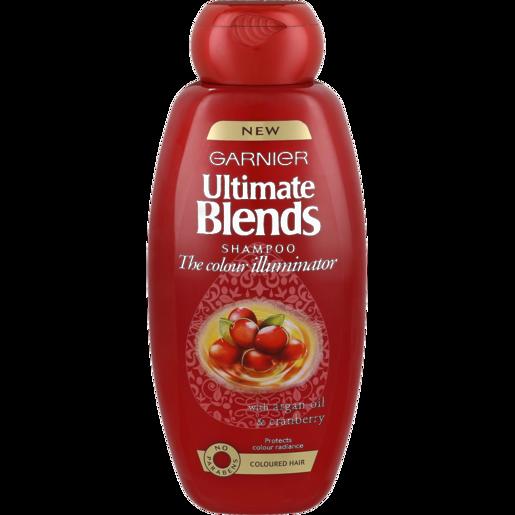Garnier Ultimate Blends The Colour Illuminator With Argan Oil & Cranberry Shampoo 400ml