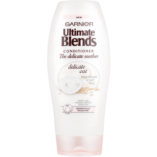 Garnier Ultimate Blends The Delicate Soother Delicate Oat, Rice Cream & Oat Milk Conditioner 400ml