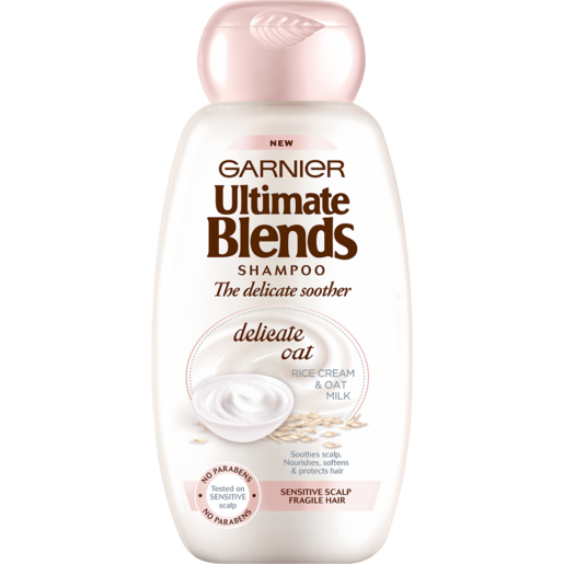 Garnier Ultimate Blends The Delicate Soother Delicate Oat, Rice Cream & Oat Milk Shampoo 400ml
