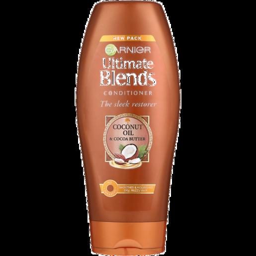 Garnier Ultimate Blends The Sleek Restorer Coconut Oil & Cocoa Butter Conditioner 400ml