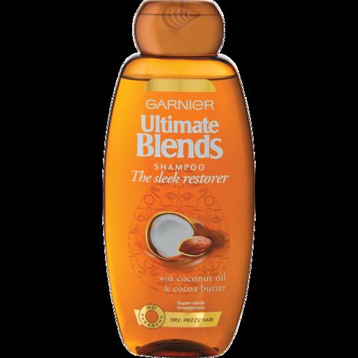 Garnier Ultimate Blends The Sleek Restorer With Coconut Oil & Cocoa Butter Shampoo 400ml