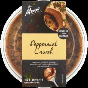 The Menu Peppermint Crunch Dessert 450g