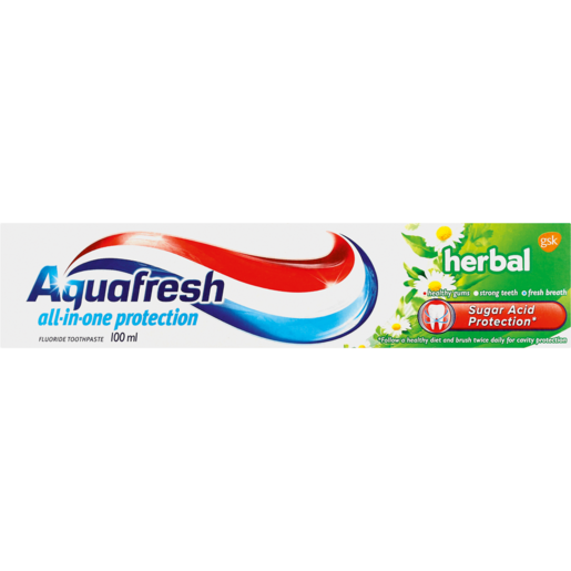 Aquafresh All-In-One Protection Herbal Toothpaste 100ml