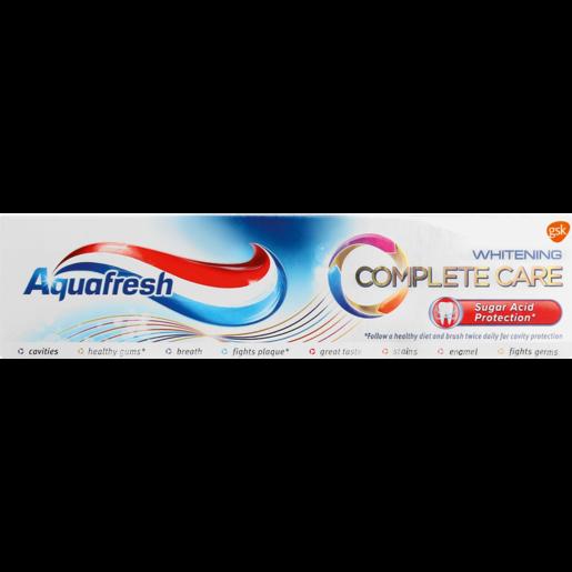 Aquafresh Complete Care Whitening Toothpaste 75ml