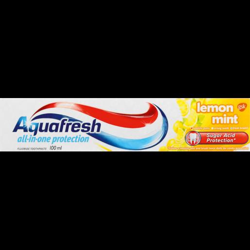 Aquafresh Lemon Mint Toothpaste 100ml