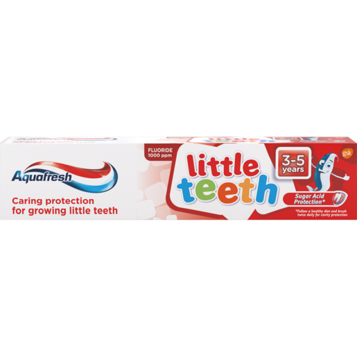 Aquafresh Little Teeth Toothpaste 50ml