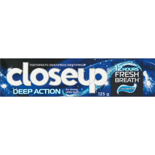 Close Up Cool Breeze Deep Action Toothpaste 125g
