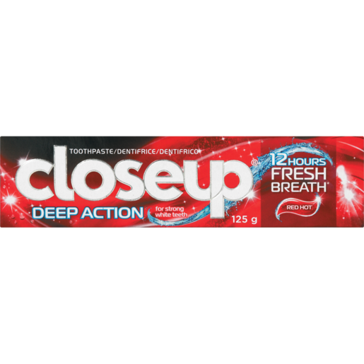 Close Up Red Hot Deep Action Toothpaste 125ml