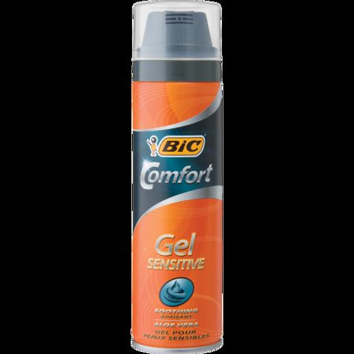 Bic Comfort Sensitive Shaving Gel 200ml