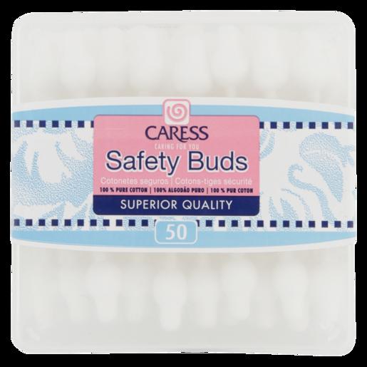Caress Safety Buds 50 Pack