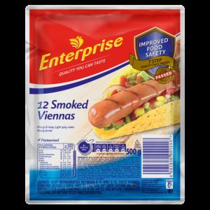 Enterprise Smoked Viennas 500g