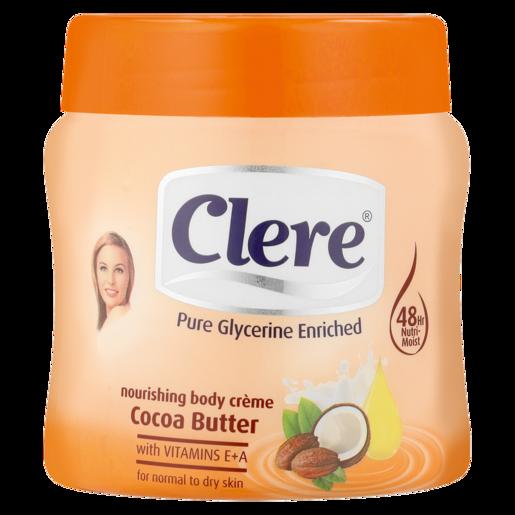 Clere Cocoa Butter Body Cream 300ml