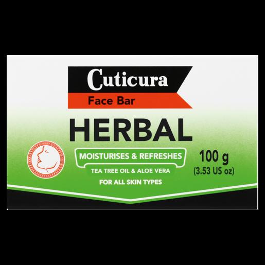 Cuticura Herbal Face Bar 100g