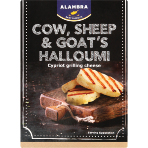 Alambra Cow, Sheep & Goat's Halloumi Cypriot Grilling Cheese 200g