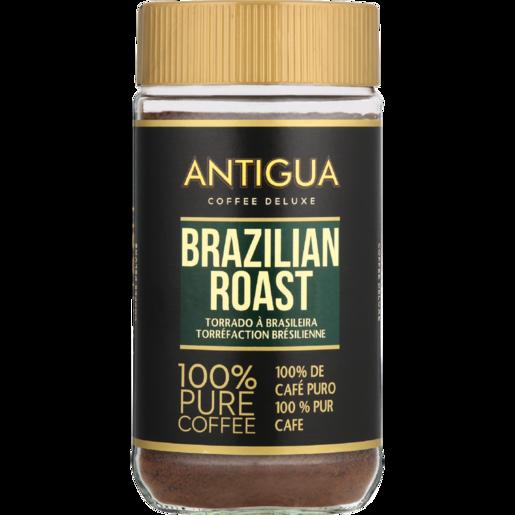Antigua Brazilian Roast Instant Coffee Jar 200g