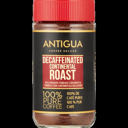 Antigua Continental Roast Instant Decaffeinated Coffee Jar 200g