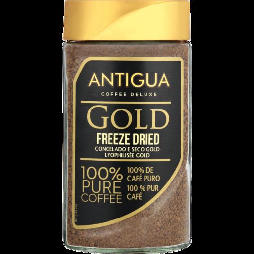 Antigua Gold Freeze Dried Instant Coffee Jar 200g