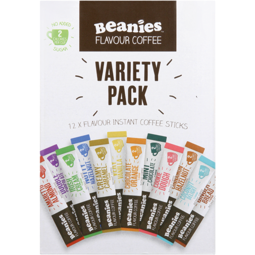 Beanies Instant Coffee Variety Pack 24g